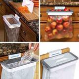 Lixeira Acoplável Com Tampa P/ Portas E Gavetas Suporte Lixo - Adileth