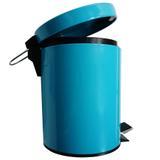 Lixeira em aco inox colorida 5 litros - niazitex