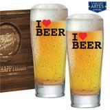 Luva Copos Prime 300 I Love Beer Happy Hour C/ 02 Pcs - Ruvolo