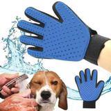 Luva Escova Nano Magnética Tira Pelos Dos Pets Cães E Gatos - Horizonte