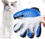 Luva Escova Nano Magnética Tira Pelos Dos Pets Cães E Gatos - Re