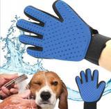 Luva Escova Pets Cachorros-gatos-coelho-caes  Silicone - Mega-xt