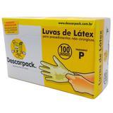 Luva Latex S/ Po P C/100 Und Descarpack