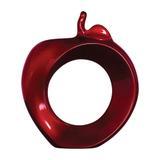 Maça Elypse Vermelho - Cerâmica ana maria