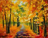 Magia Dourada - Liu Kojima - Tela 50x63 Para Quadro - Santhatela