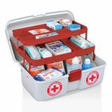 Maleta Caixa Primeiros Socorros De Medicamentos C/2 Bandejas - Arqplast