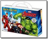 Maleta de leitura - avengers - Rideel editora ( bicho esperto )