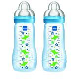 Mamadeira Fashion Bottle 330ml Azul Mam (Embalagem Dupla)
