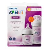 Mamadeira kit 125/260ml 101/01 transparente avent