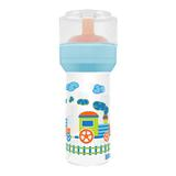 Mamadeira Lillo Divertida Azul Silicone Super 260ml