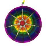 Mandala de Vidro 7 Raios 18cm - Mandala de luz
