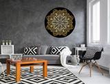 Mandala MDF - dourada DOU11 - 65x65cm