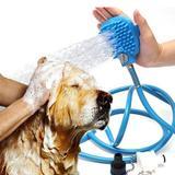 Mangueira Luva Massageadora Lava Fácil Banho em Animais - Rpc