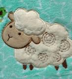 Manta Cobertor Infantil Bebê Bouton Ovelhinha