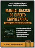 Manual basico de direito empresarial - especial pa - Jurua