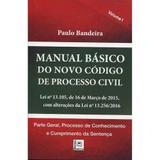 Manual básico do novo código de processo civil - Pillares