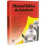 Manual bíblico do estudante - Editora cpad