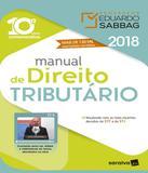 Manual De Direito Tributario - 2018 - 10 Ed - Saraiva