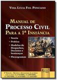 Manual de processo civil para a 1 instancia - teor - Jurua