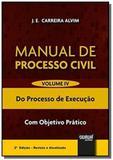 Manual de Processo Civil - Volume IV - Do Processo de Execução - Com Objetivo Prático - Jurua