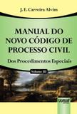 Manual do Novo Codigo de Processo Civil, V.3 - Jurua editora -