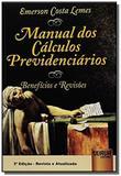 Manual dos calculos previdenciarios beneficios e r - Jurua