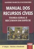 Manual dos Recursos Cíveis - Juruá