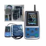Mapa Monitor Pressão Arterial Contec Abpm50 Com Software