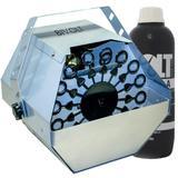 Máquina de Bolhas de Sabão Profissional Bivolt + 1 Lt Líquido - Luatek