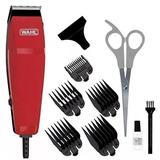 Máquina de Cortar Cabelo Wahl Easy Cut 9314-2718 com Lâminas Autoafiáveis 220V - Vermelho - Whall