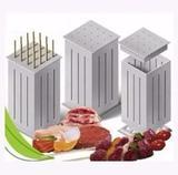 Maquina De Fazer Espetinhos De Carne Churrasco Cozinha 16 Un - Maquina de espeto