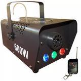 Maquina de Fumaça Luatek LK-Y5 3 Leds 600W 110V com controle sem fio