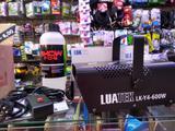 Maquina de fumaça s/ led 600w luatek + 1 liquido de brinde 1litro