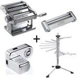 Maquina de Macarrao + Varal + Spaghetti + Motor Marcato