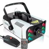 Máquina Fumaça 1200w Efeito 6 Leds RGB Controle Remoto 110 V - Luatek