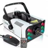 Máquina Fumaça 1200w Efeito 6 Leds RGB Controle Remoto 220V - Luatek