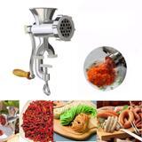 Maquina moedor de carne em aluminio máquina de moer grande para fazer linguiças, hamburguer, aliment - Faça  resolva
