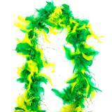 Marabú Grosso Pena Mesclado Verde e Amarelo 30GR - Festabox