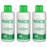 Márcia Água Oxigenada 40vol Cremosa 70ml (Kit C/03)
