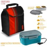 Marmita Elétrica 1,2 L Bivolt com Cooler Lunch 4,2 L - SOPRANO