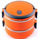 Marmita Lancheira Térmica Lunch Box Hermético 2 Compartimentos - Emi