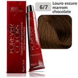 Marrom 6-7 Louro Escuro Marrom Chocolate Forever Colors - Forever liss