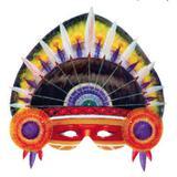 Máscara de Carnaval Índio - Festabox