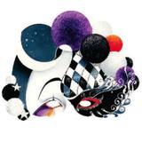 Máscara de Carnaval Pierrot - Festabox