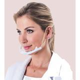 Máscara de Proteção Transparente Anti Embaçante Higimask