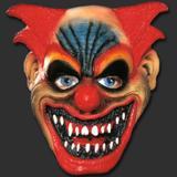 Máscara Palhaço Raivoso Terror Carnaval Halloween - Spook Inteira