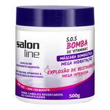 Mascara salon line bombastica 500gr - Devintex cosm ltda