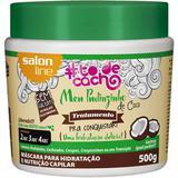 Mascara Salon Line To De Cachos Meu Pudinzinho Coco 500g