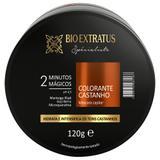 Mascara specialiste colorante castanho 120g bio extratus