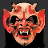 Máscara Terror Spook Látex Capuz - Diabo Demônio Monstruoso